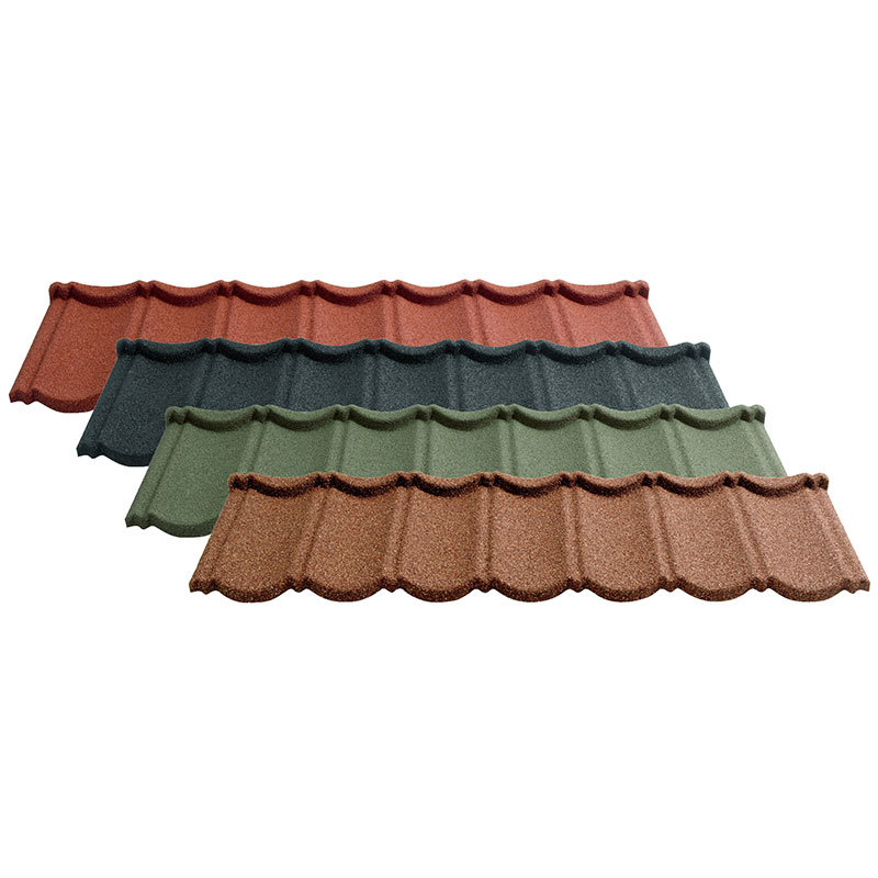 Colorful Stone Coated Metal Tile Roofing - Bond Type