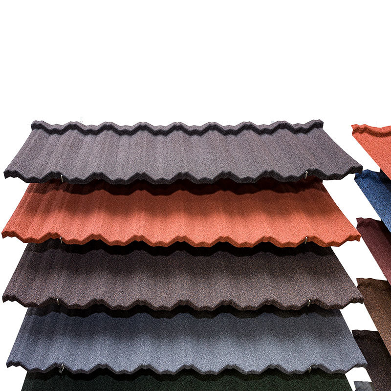 Classic Metal Roofing Stone Coated Metal Roof Tiles - Classic Type
