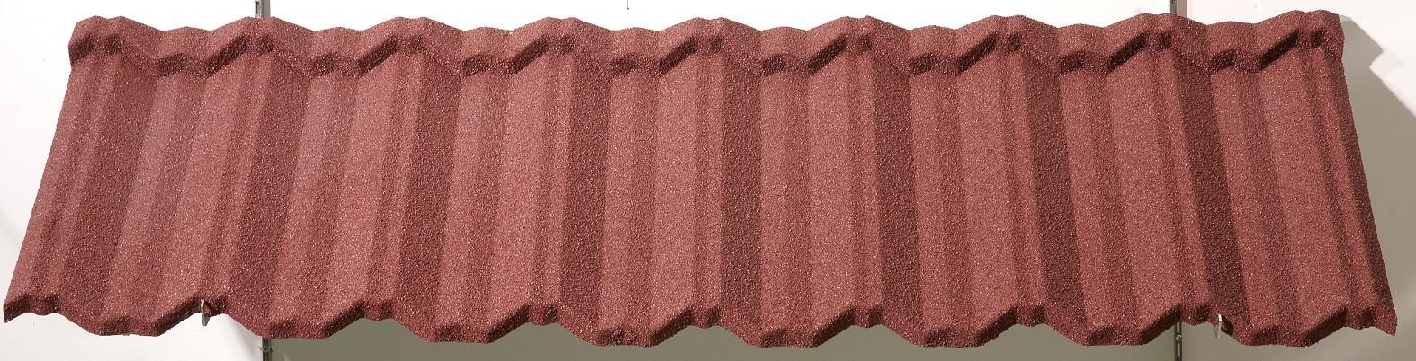 custom waterproof metal roof stone supply for Hotel