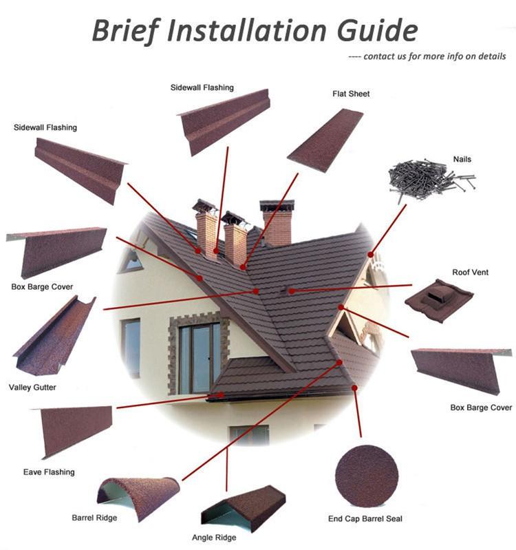 custom waterproof metal roof stone supply for Hotel-16