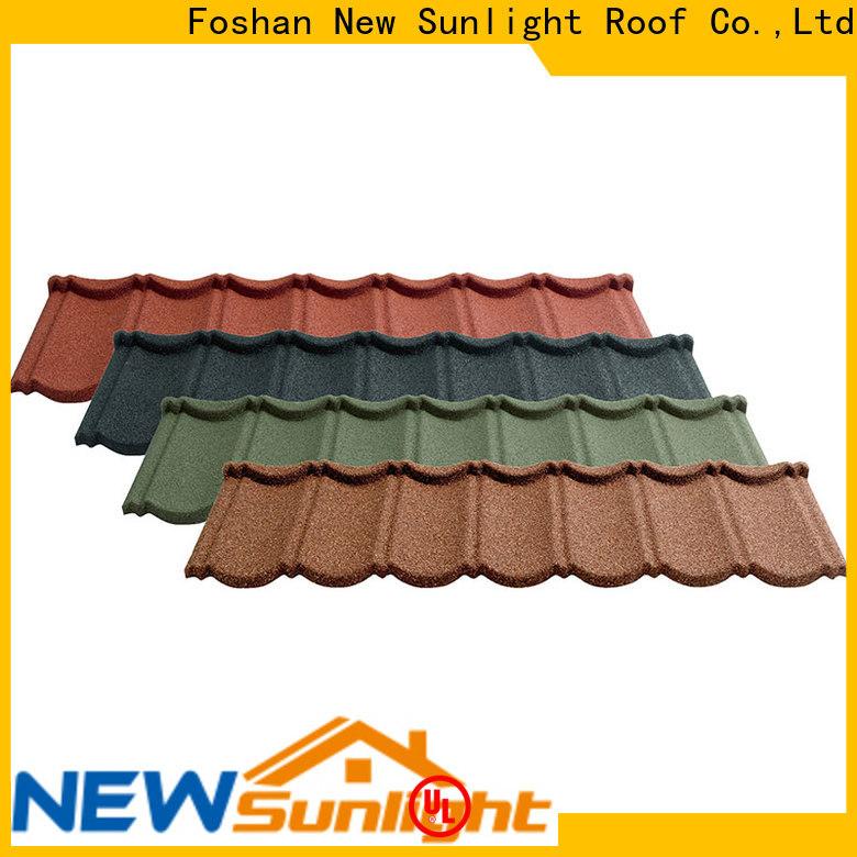 New Sunlight Roof roofing lightweight roof tiles for garden construction