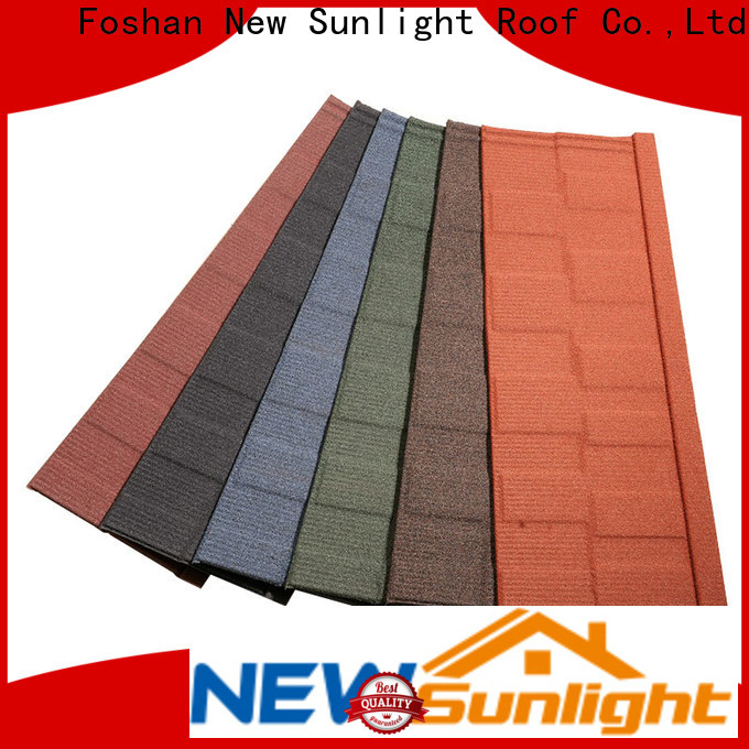 New Sunlight Roof coated steel roof panels company for Villa