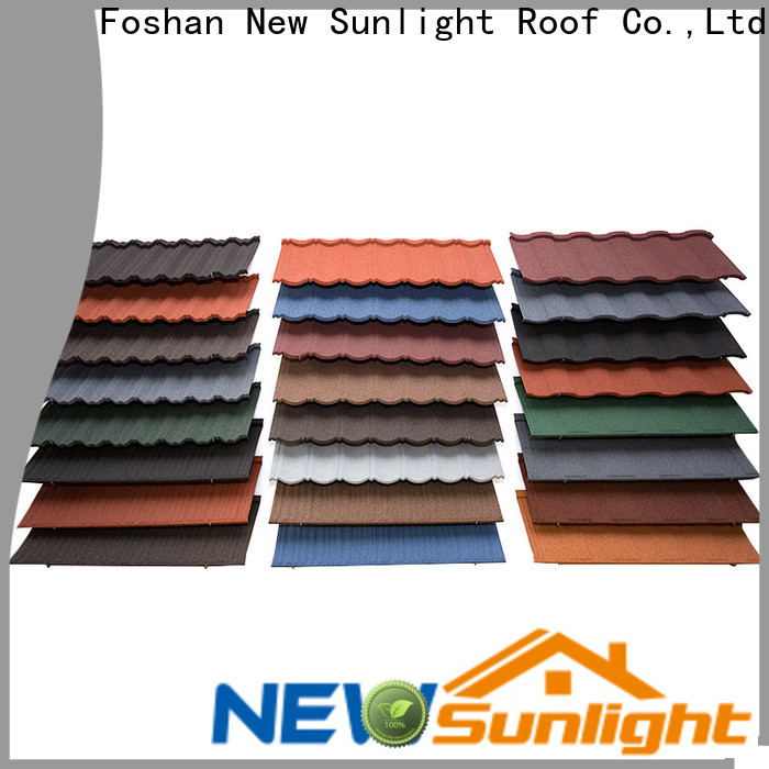 New Sunlight Roof roof lightweight roofing sheets suppliers for School