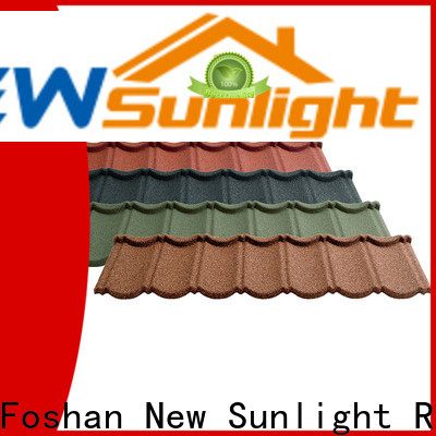 latest steel tile roofing sheets stone suppliers for warehouse market