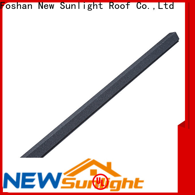 New Sunlight Roof wholesale metal roofing accessories for business for Courtyard