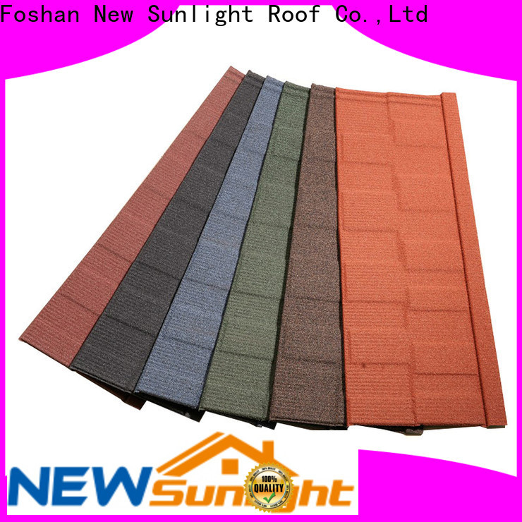 New Sunlight Roof lightweight roofing tiles factory for business for Office