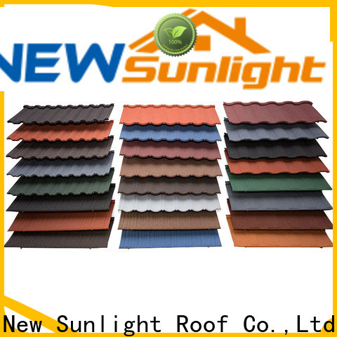 New Sunlight Roof rainbow roof tiles company for Building Sports Venues