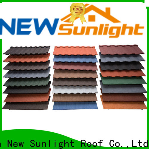latest wholesale metal roofing materials materials supply for Office