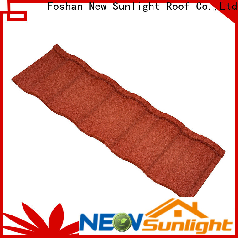 New Sunlight Roof metal spanish tiles manufacturers factory for Supermarket