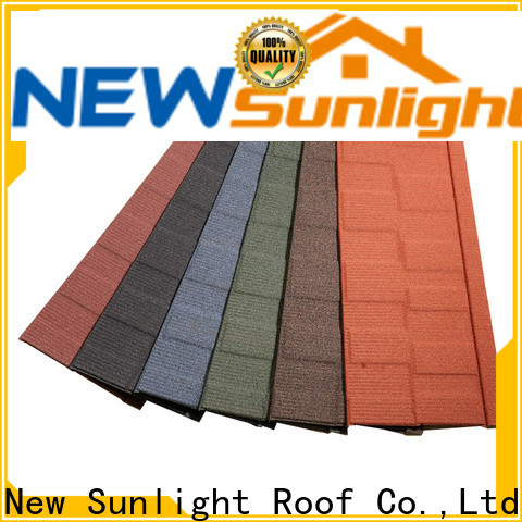 New Sunlight Roof latest roof shingle types for Villa