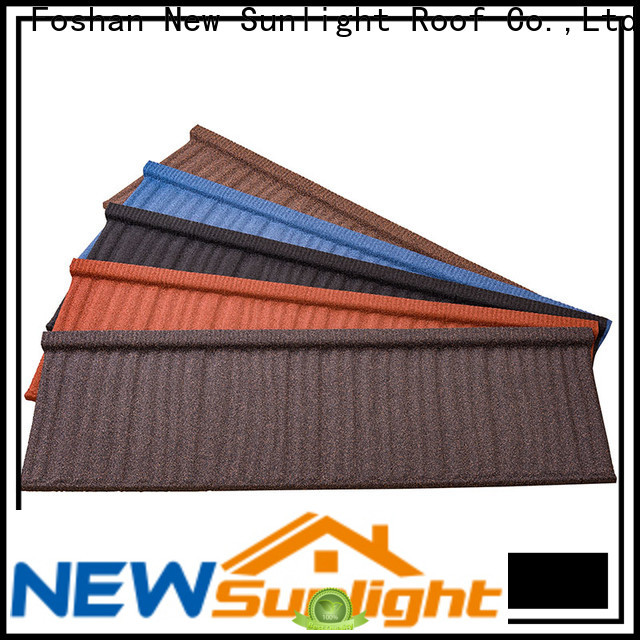 New Sunlight Roof roofing metal tiles supply for Hotel