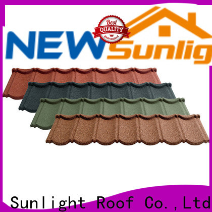 New Sunlight Roof new coated steel roofing manufacturers for warehouse market