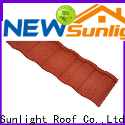 custom coated roofing sheets roman company for Warehouse