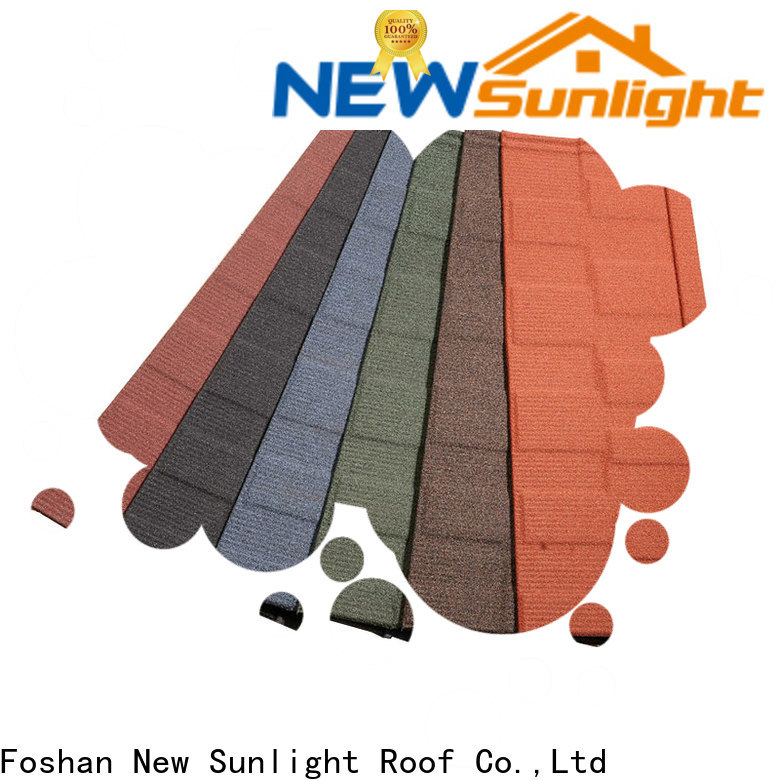 New Sunlight Roof top fiberglass roofing shingles factory for Office