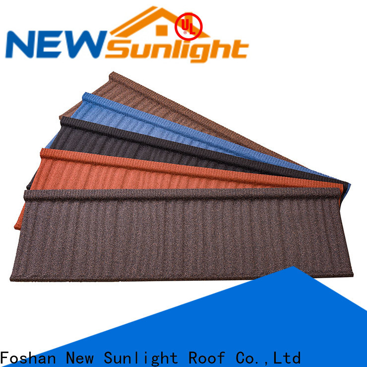 New Sunlight Roof latest composite roof tile manufacturers for Building Sports Venues