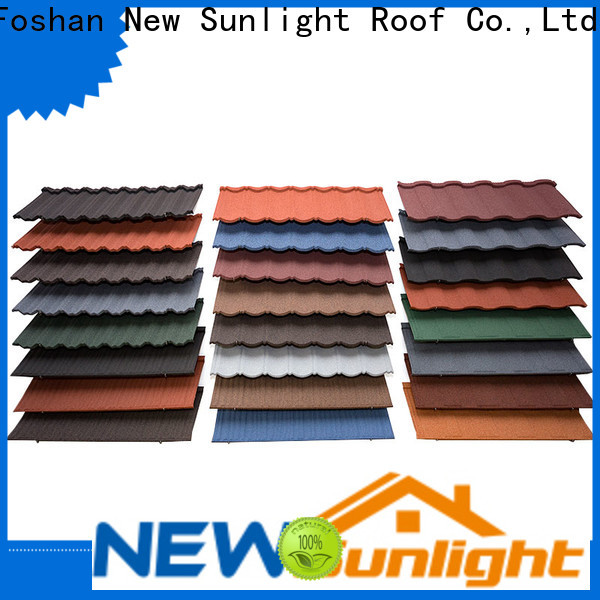 new stone coated steel roofing manufacturers coated company for School