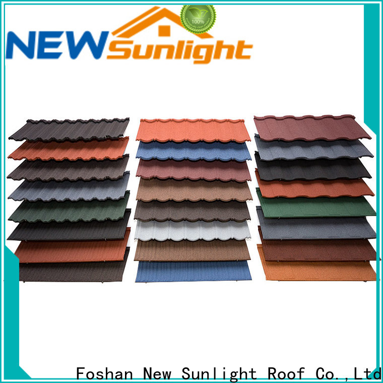 New Sunlight Roof latest rainbow roof tiles company for Hotel
