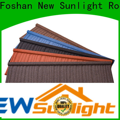 New Sunlight Roof colorful roofing materials shingles manufacturers for Building Sports Venues