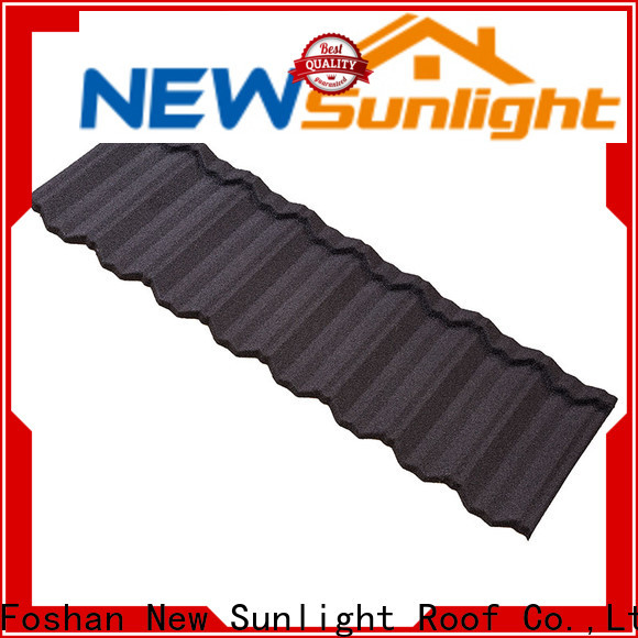 new stone coated metal roof tiles roofing for Building Sports Venues