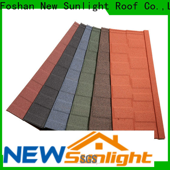 New Sunlight Roof roof ceramic roof shingles factory for Hotel