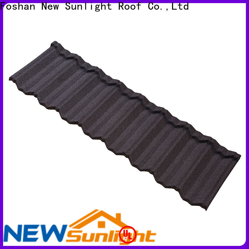 New Sunlight Roof latest stone coated steel roof factory for Hotel