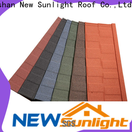 New Sunlight Roof top roofing and shingles supply for School