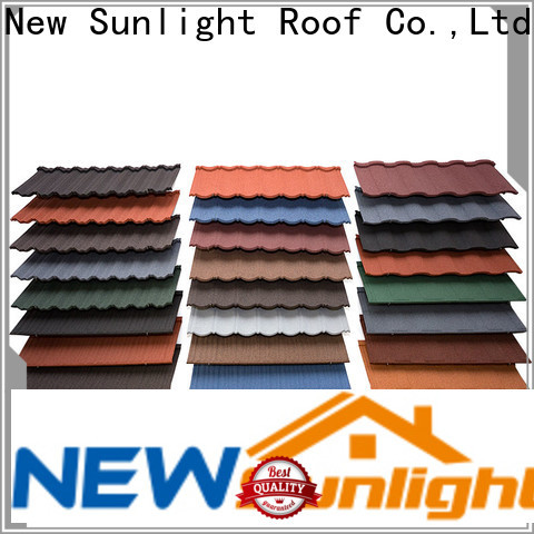 New Sunlight Roof new rainbow metal roofing for business for Hotel