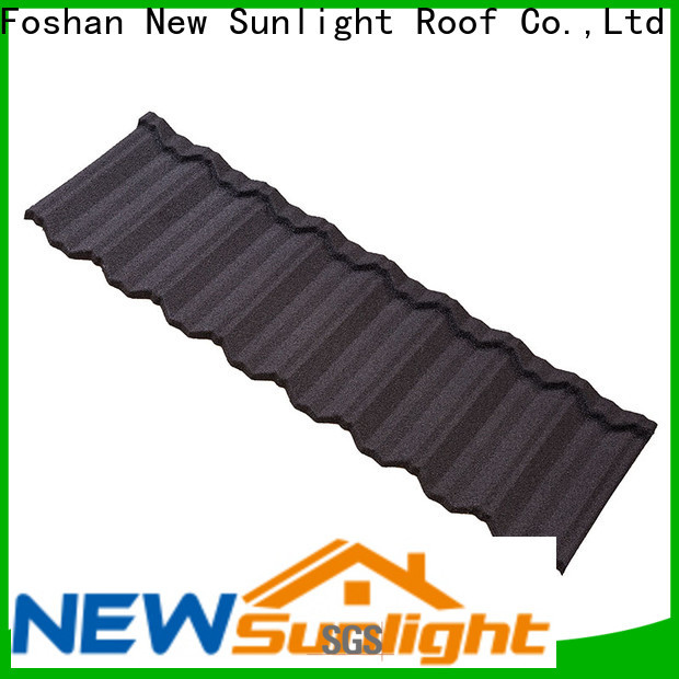 New Sunlight Roof high-quality roofing ridge tiles factory for Villa