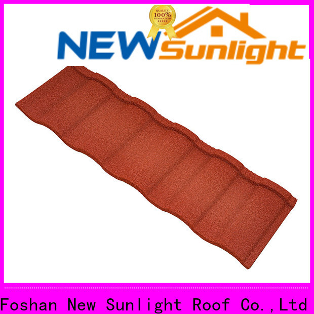 New Sunlight Roof materials wholesale steel roofing sheets factory for Farmhouse