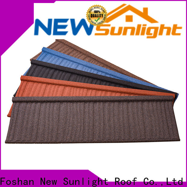 New Sunlight Roof top corrugated sheet metal roofing manufacturers for Building Sports Venues