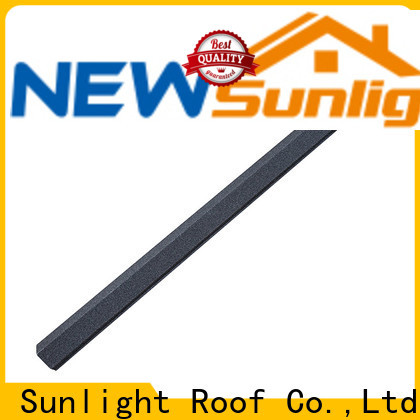 New Sunlight Roof accessories steel roofing accessories manufacturers for School