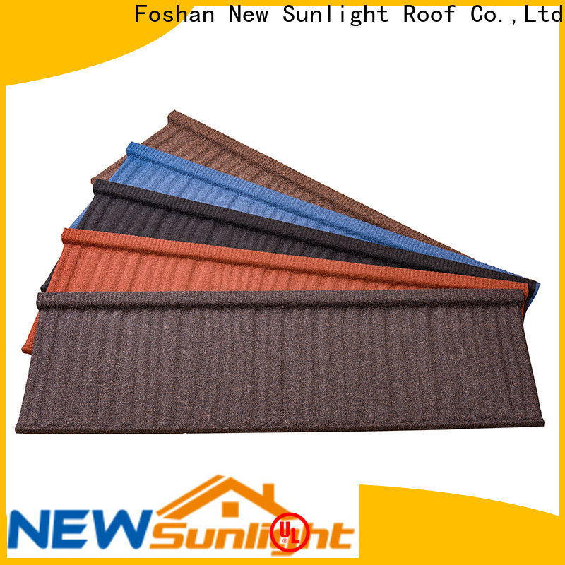 New Sunlight Roof tiles metal roofing systems suppliers for School
