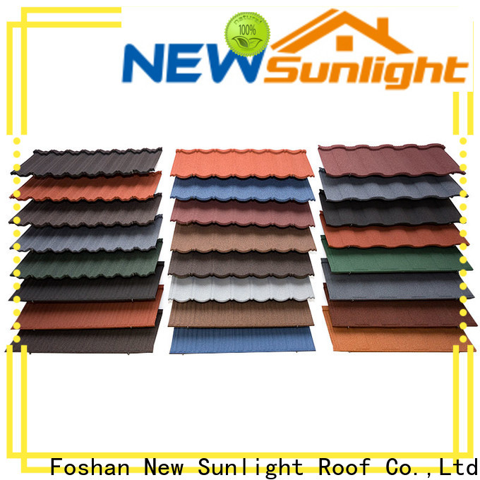 top stone coated roofing tiles china roofing supply for Hotel