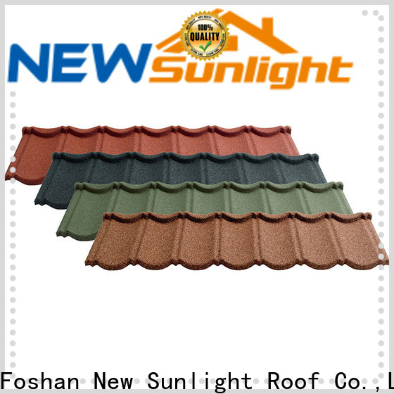 high-quality decra roofing material colorful company for warehouse market