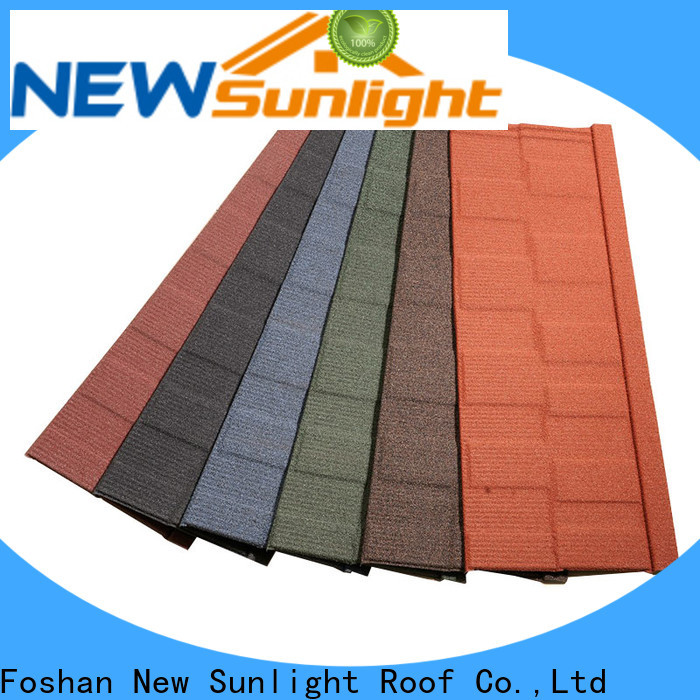 New Sunlight Roof latest china roofing tiles suppliers for Hotel