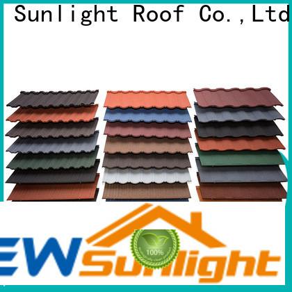 New Sunlight Roof roofing custom tile roofing supply for Office