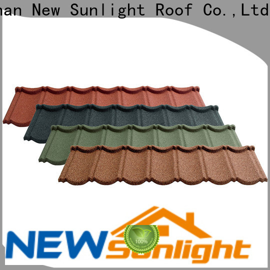 new aluminium roof tiles colorful for business for garden construction