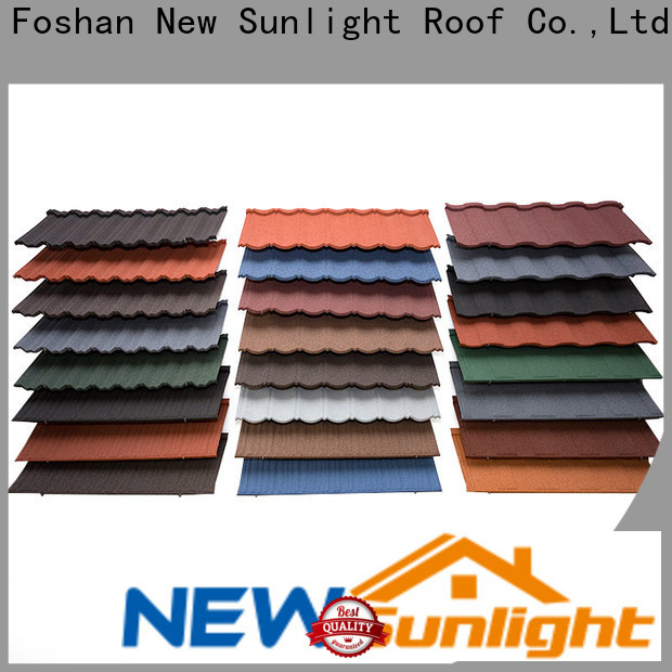 New Sunlight Roof metal rainbow metal roofing for business for Office