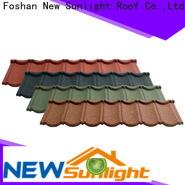 New Sunlight Roof coated metal roofing company for industrial workshop