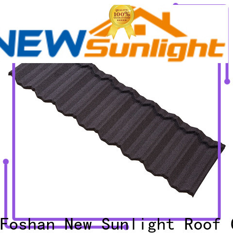 latest stone coated steel roof roofing company for Office