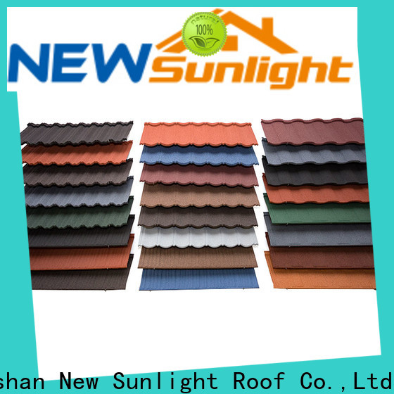 New Sunlight Roof material corrugated metal roofing suppliers for Building Sports Venues