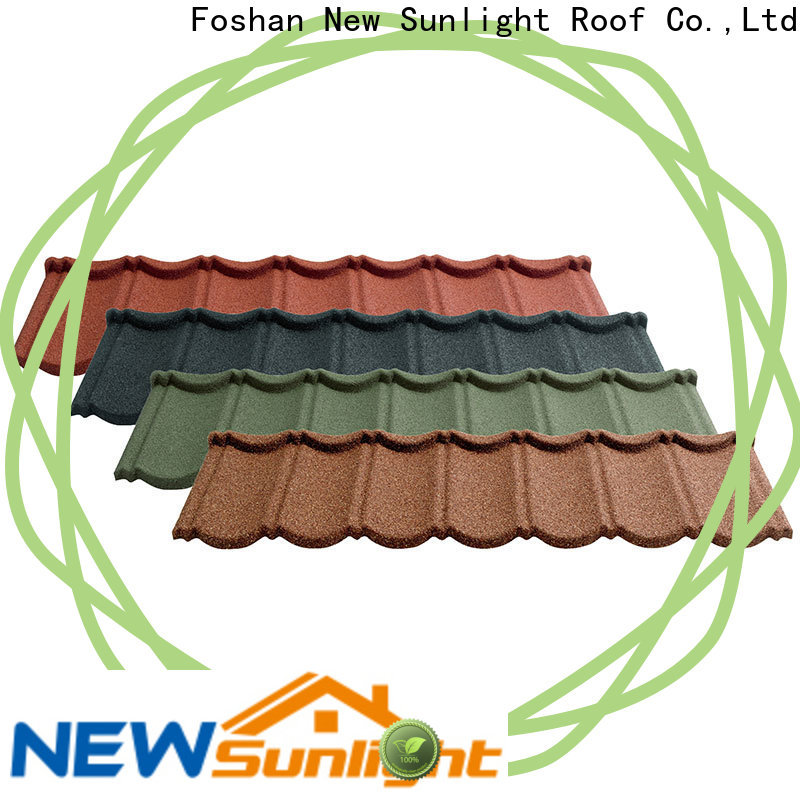 best stone coated steel roofing bond factory for warehouse market