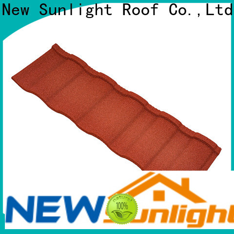 New Sunlight Roof new coated roofing sheets for Supermarket