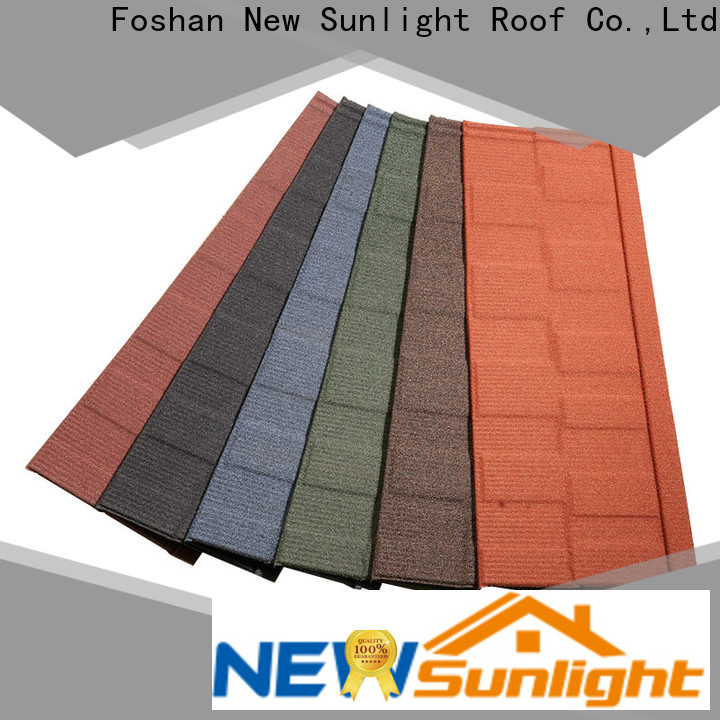 New Sunlight Roof roof cheap roofing shingles suppliers for Hotel