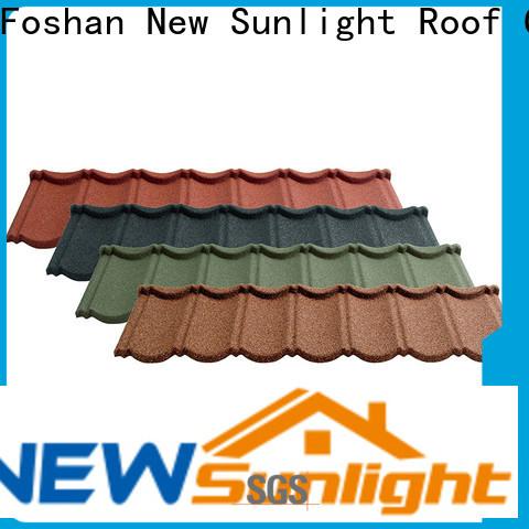 New Sunlight Roof top tile roofing contractors manufacturers for industrial workshop