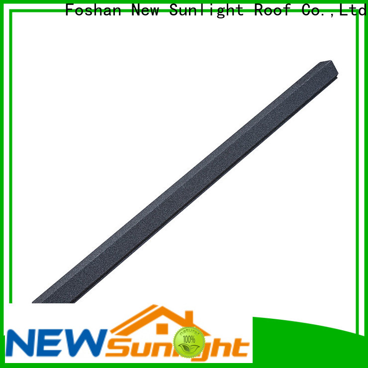 New Sunlight Roof main roofing sheet accessories factory for Supermarket