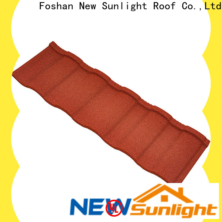 New Sunlight Roof double roman roof tiles suppliers for business for Warehouse
