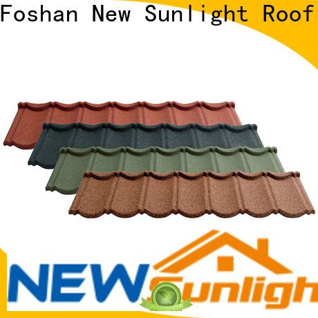 top aluminum roof tiles metal factory for warehouse market