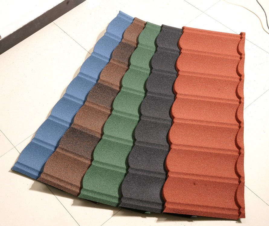 Custom Color Stone Coated Metal Roof Tiles Supplier
