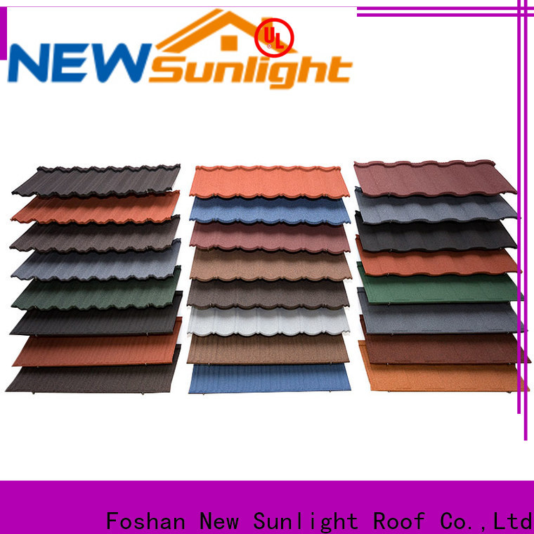 wholesale custom tile roofing materials company for Villa
